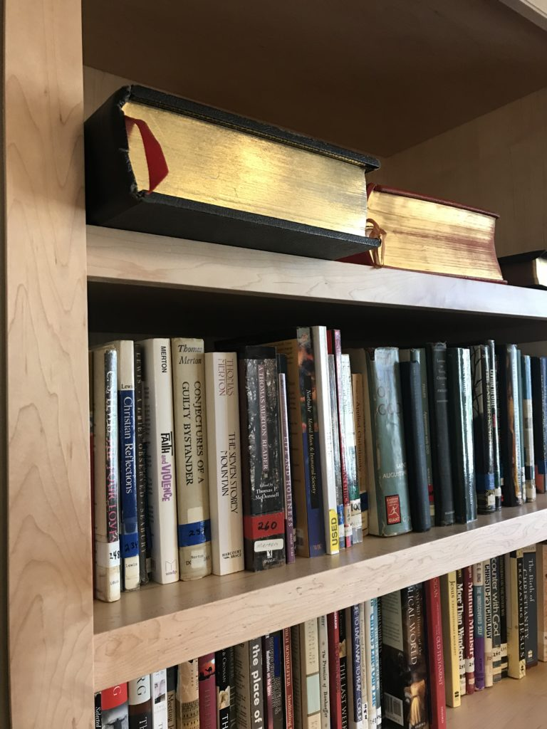 library book shelf