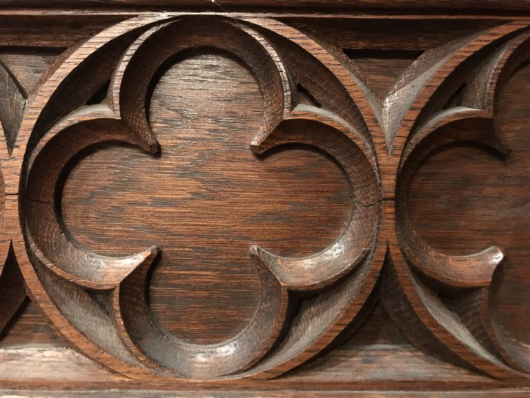 chapel woodwork