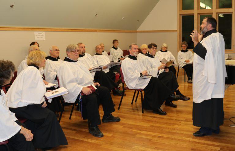 NJH Install choir